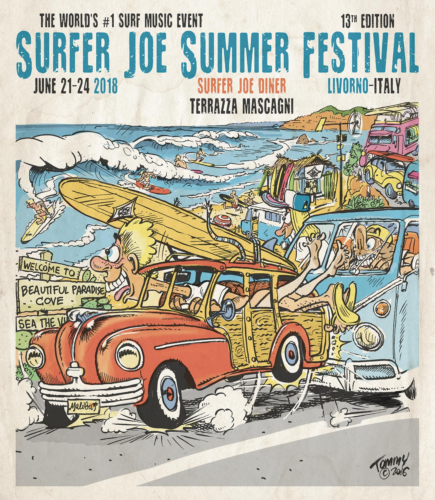Surfer joe festival